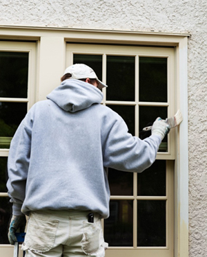 exterior painting in cool weather