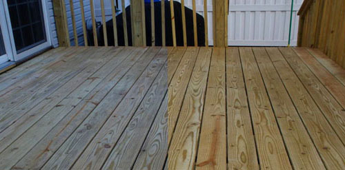 Preparing New Pressure Treated Wood Deck To Take A Finish Paint Gurus